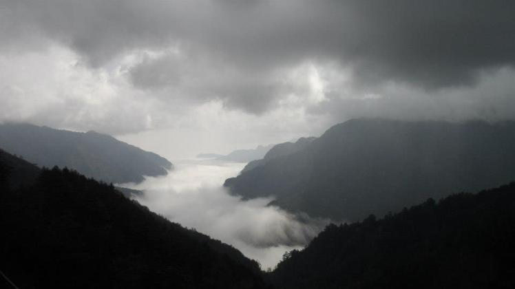 Sea of clouds; along the way from Cingjing to Hualien
