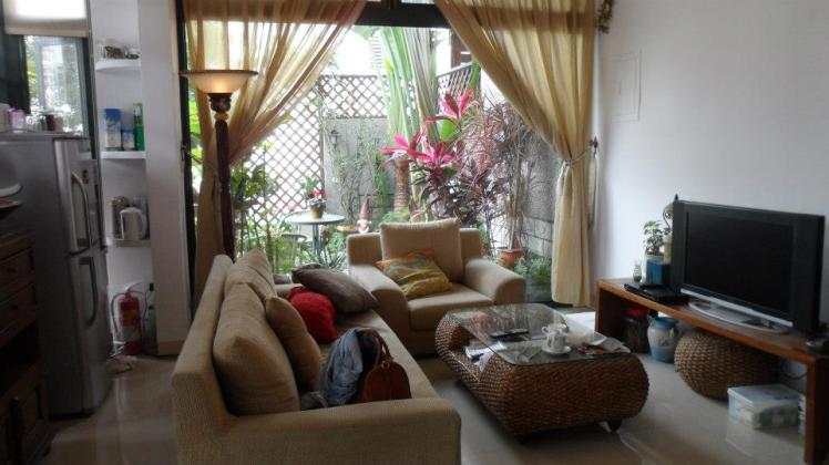Lounge area at Sky-Moon B&B 觀月民宿