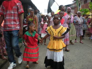 children donning beautiful dreadlocks and colourful dress