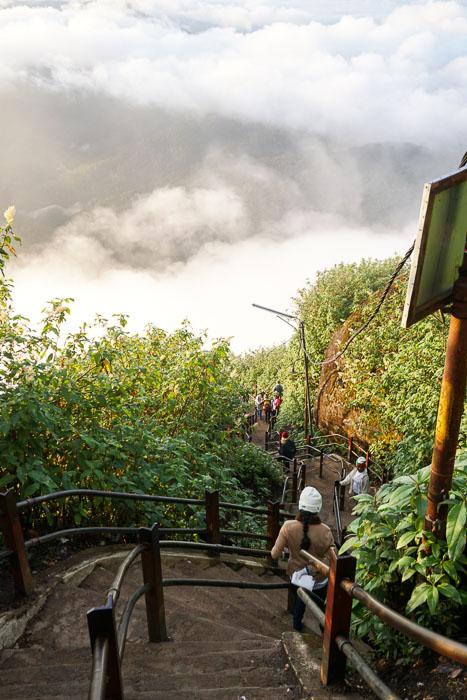 Adam's Peak Stairs