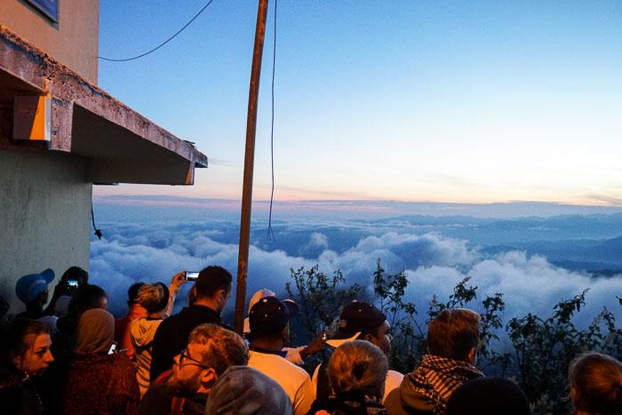 Sunrise at Adam's Peak 6