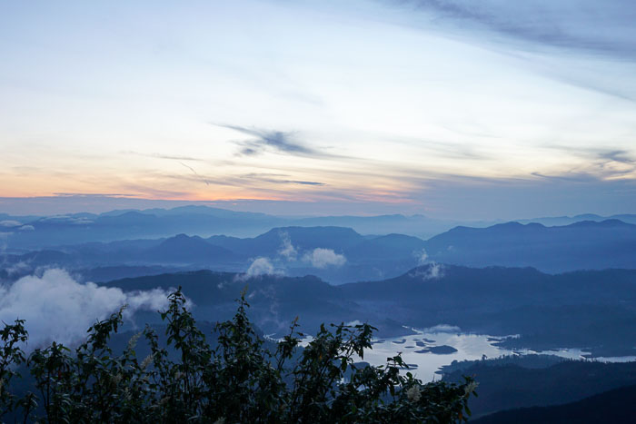 Sunrise at Adam's Peak