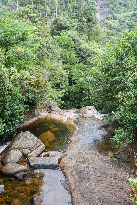 Swimhole at Adam's Peak