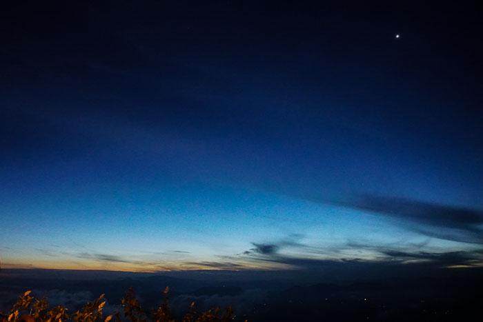 Twiling at Adam's Peak